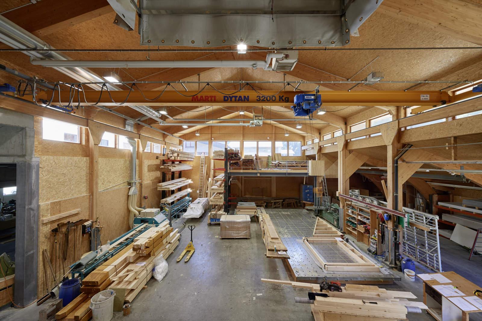 Zimmerei Holzbau Engelberg
